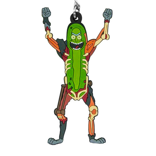 Rick and Morty - Pickle Rat Rick Keychain (Keyring)